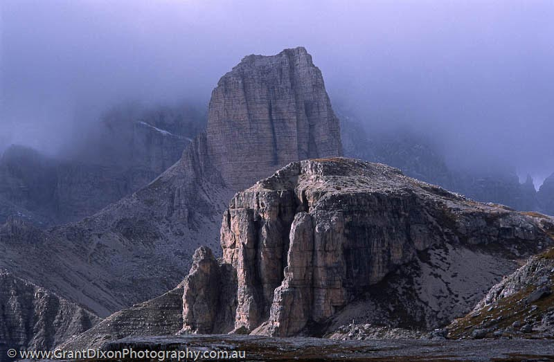 image of Dolomites bluffs
