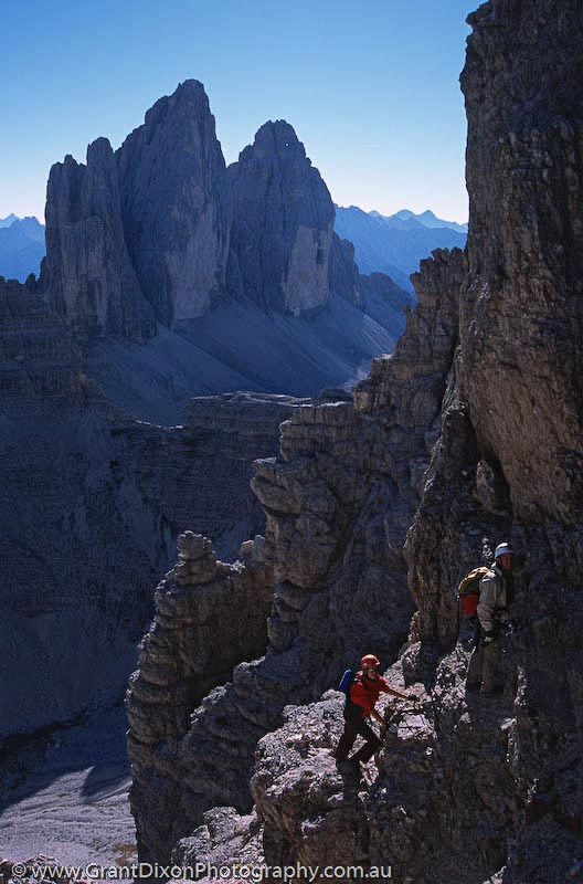 image of Dolomites via ferrata
