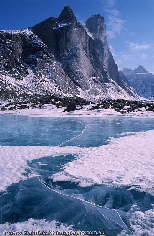 image of Mt Thor moraine lake 2