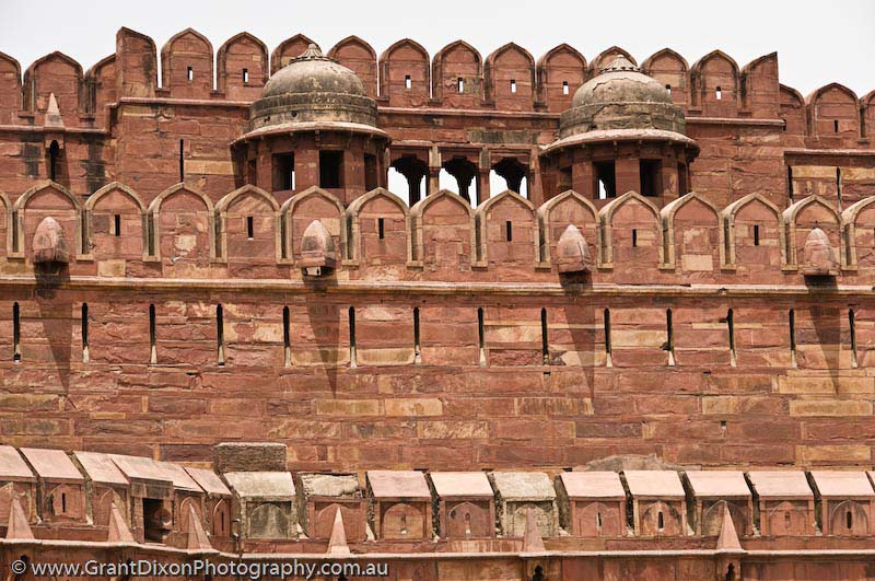 image of Agra Fort wall