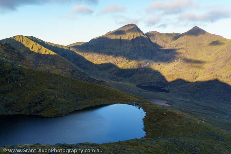 image of Carrauntoohil cloud shadows