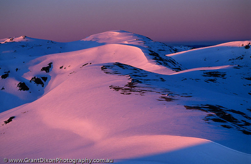 image of Kosciuszko dawn