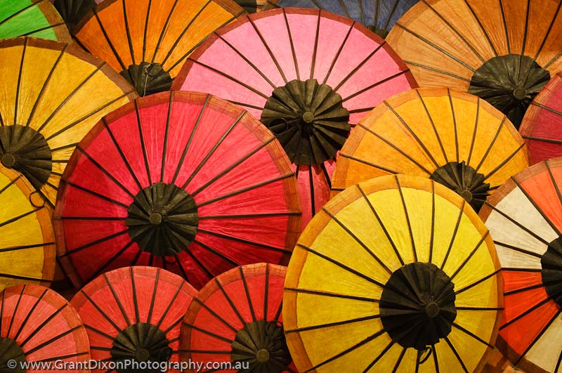 image of Luang Prabang umbrellas