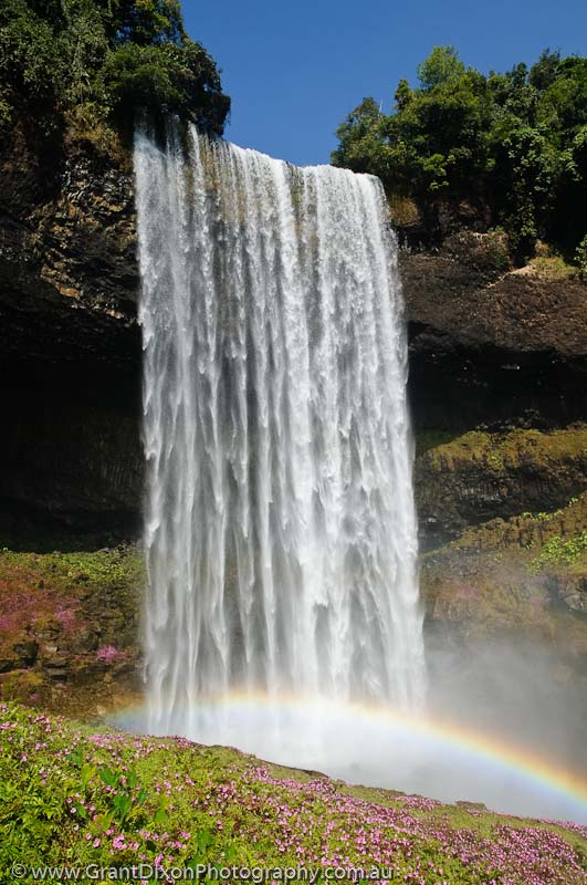 image of Bolaven waterfall rainbow 1