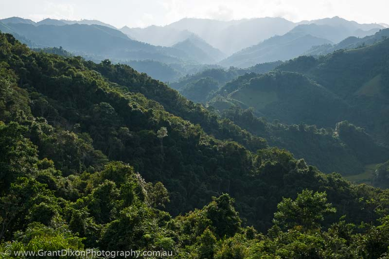 image of Houaphanh forested ridges 2