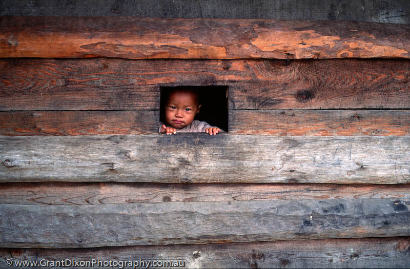 image of Curious Lukla Child