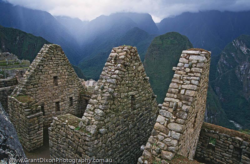 image of Machu Picchu houses