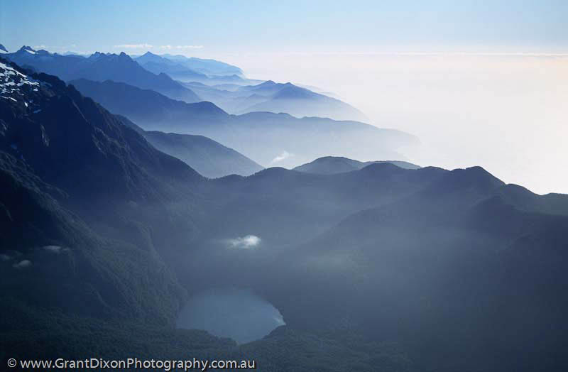 image of Fiordland ridges