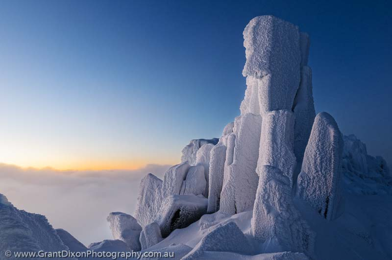 image of Cradle Mtn dusk pillar