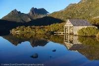 Cradle Mountain & Lake Dove, Cradle Mtn - Lk St Clair National Park, Tasmanian Wilderness World Heritage Area.