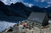 Switzerland, Alps. Cabane Moiry.