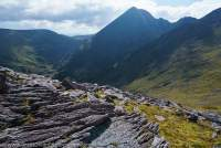Carrauntoohil (1038m), Ireland's highest peak, Macgillycuddy's Reeks, County Kerry, Ireland
