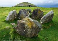Loughcrew chambered cairn & stone circle, County Meath, Ireland
