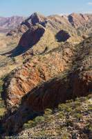 Chewings Range, West Macdonnell National Park, Northern Territory, Australia.