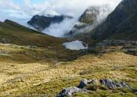 Adelaide Tarn, Douglas Range, Kahurangi National Park, New Zealand